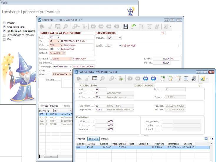 UPIS.Partner- Proizvodnja